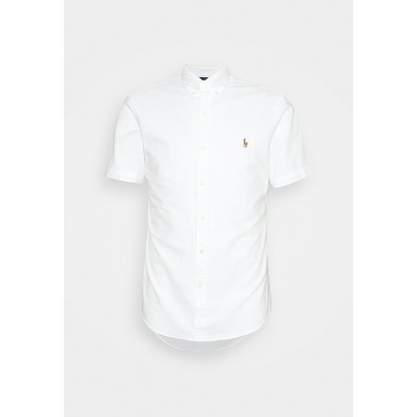 ラルフローレン メンズ トップス 在庫限り シャツ white bgoc0010 - Shirt 全商品無料サイズ交換 OXFORD お得セット