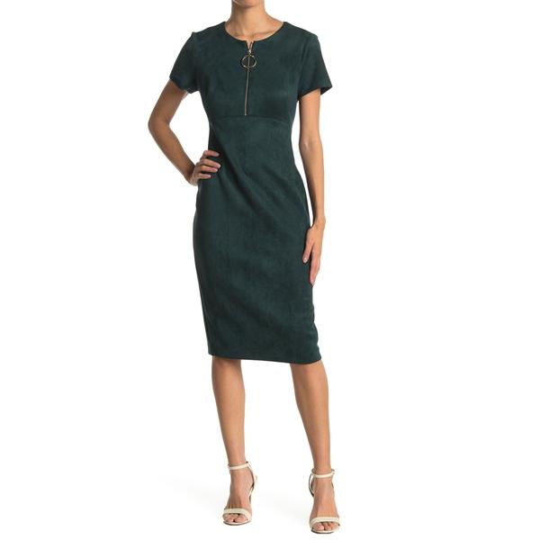 カルバンクライン レディース 倉庫 トップス ワンピース MALACHITE Dress Sheath Zip 再販ご予約限定送料無料 全商品無料サイズ交換 O-Ring