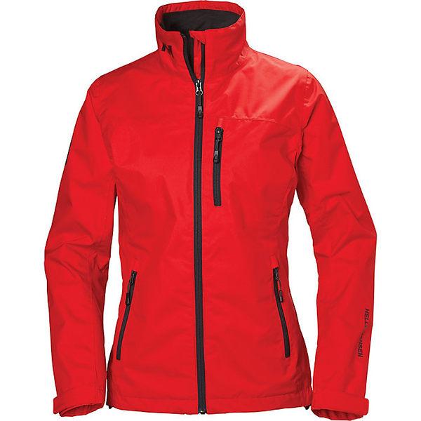 ヘリーハンセン レディース ジャケット&ブルゾン アウター Helly Hansen Women's Crew Jacket ALERT RED