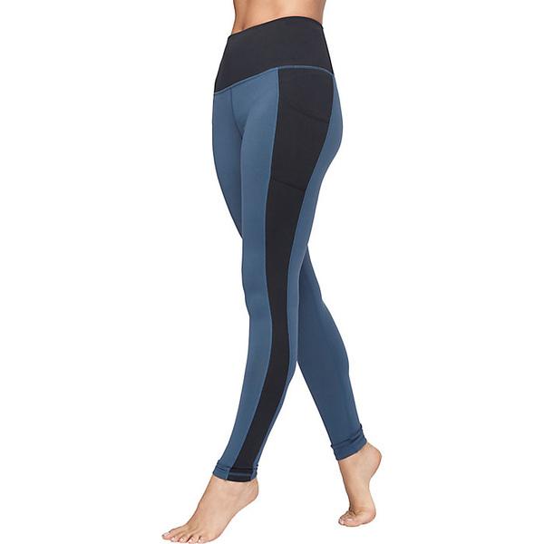 マンデュラ レディース フィットネス スポーツ Manduka Women's Essential Pocket Legging INDIGO