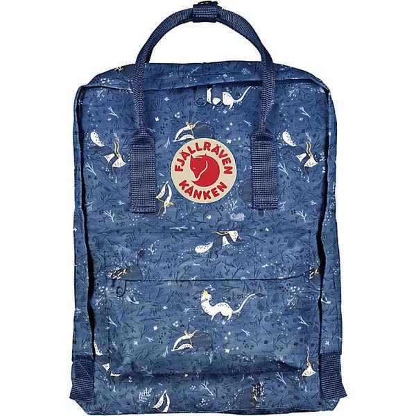 フェールラーベン メンズ バックパック・リュックサック バッグ Fjallraven Kanken Art Mini Backpack Blue Fable