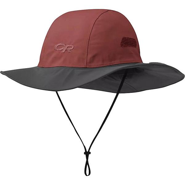 アウトドアリサーチ メンズ 帽子 アクセサリー Outdoor Research Seattle Sombrero Desert / Dark Grey