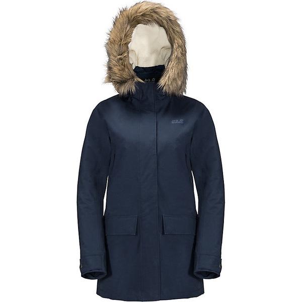 ジャックウルフスキン レディース ジャケット&ブルゾン アウター Jack Wolfskin Women's Helsinki Jacket Midnight Blue
