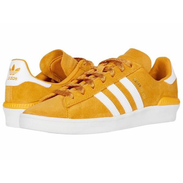 アディダス メンズ スニーカー シューズ Campus ADV Tactile Yellow F17/Footwear White/Gold Metallic