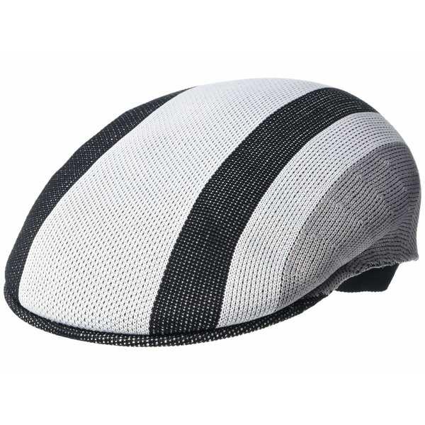 カンゴール メンズ 帽子 アクセサリー Sym Stripe 504 White