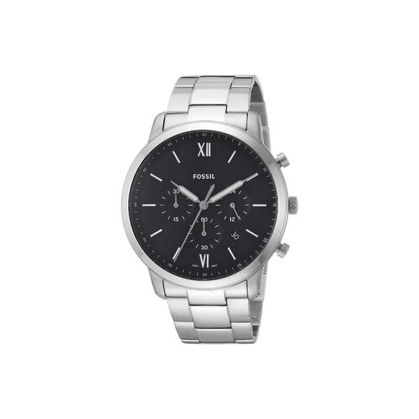 フォッシル メンズ 腕時計 アクセサリー Neutra Chronograph Watch FS5384 Silver Stainless Steel