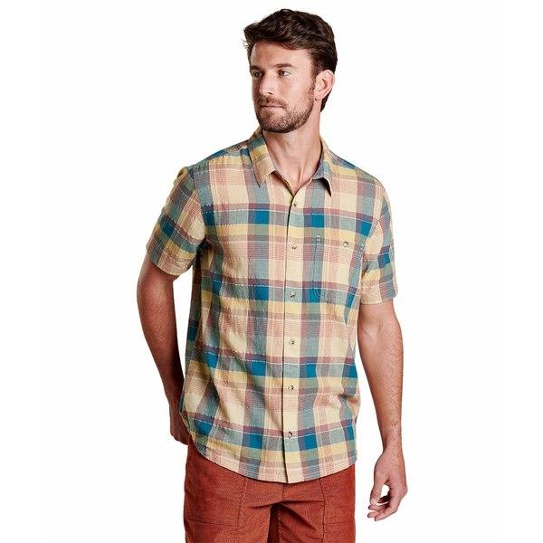 ドード アンドコー メンズ シャツ トップス Cuba Libre Short Sleeve Shirt Desert