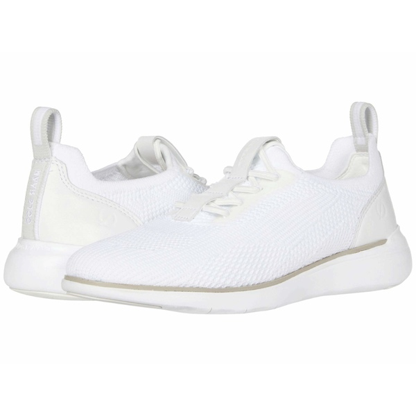 コールハーン レディース スニーカー シューズ Zerogrand Global Trainer Optic White Knit/Glacier Grey/Optic White