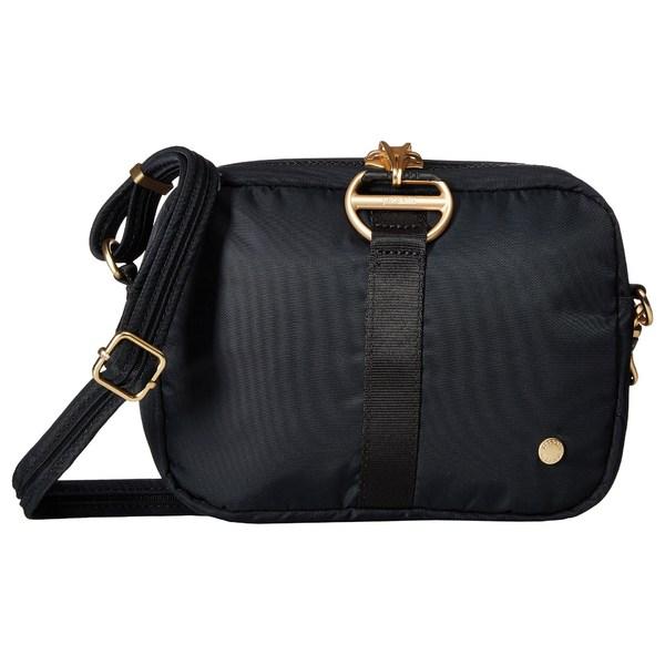 パックセーフ レディース ハンドバッグ バッグ Citysafe CX Anti-Theft Square Crossbody Bag Black