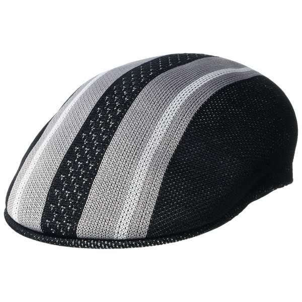 カンゴール メンズ 帽子 アクセサリー Vented Stripes 504 Black