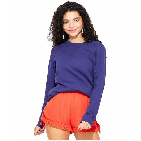 パクト レディース パーカー・スウェットシャツ アウター Essential Sweatshirt Midnight Navy