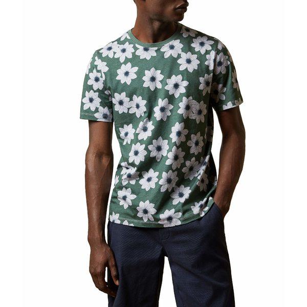 テッドベーカー メンズ シャツ トップス Nade Shirt Green