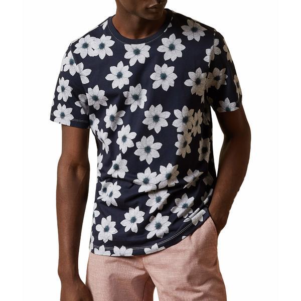 テッドベーカー メンズ シャツ トップス Nade Shirt Navy