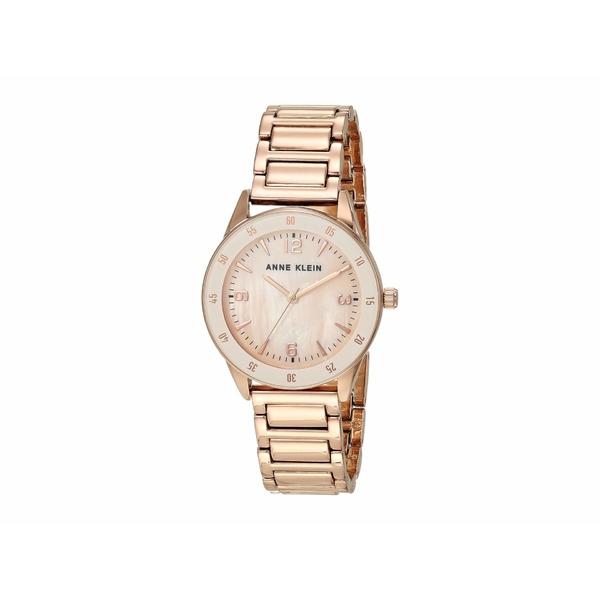 アンクライン レディース 腕時計 アクセサリー Bracelet Watch Rose Gold-Tone
