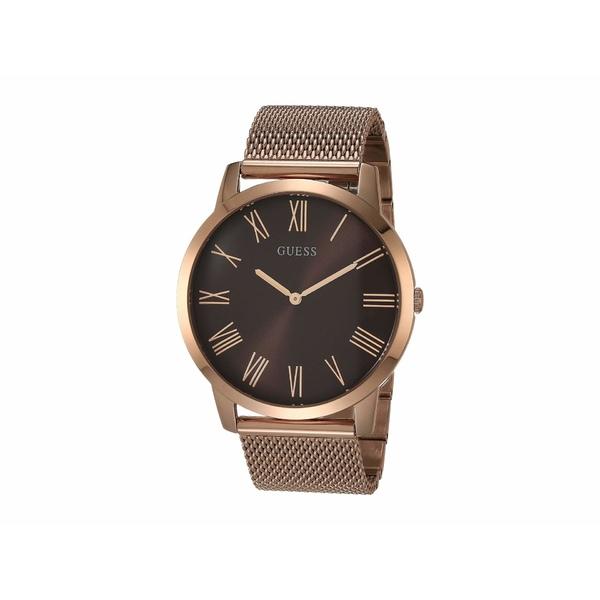 ゲス メンズ 腕時計 アクセサリー GW0074G1 Rose Gold-Tone/Brown