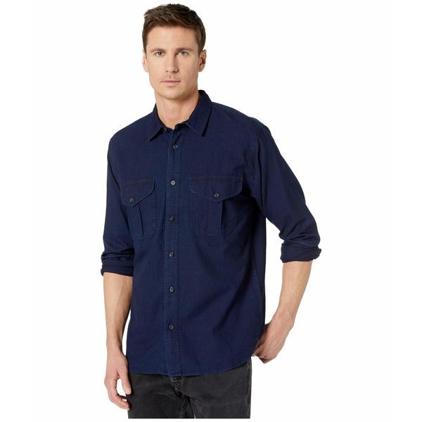 フィルソン メンズ シャツ トップス Lightweight Alaskan Guide Shirt Dark Indigo