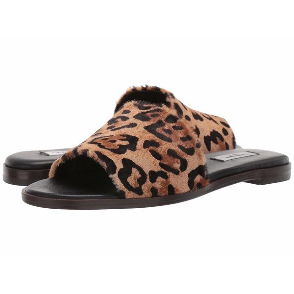 エルケーベネット レディース サンダル シューズ Reena Flat Slider Natural Leopard