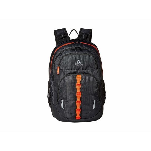 アディダス メンズ バックパック・リュックサック バッグ Prime V Backpack Carbon/Grey/Active Orange/Black