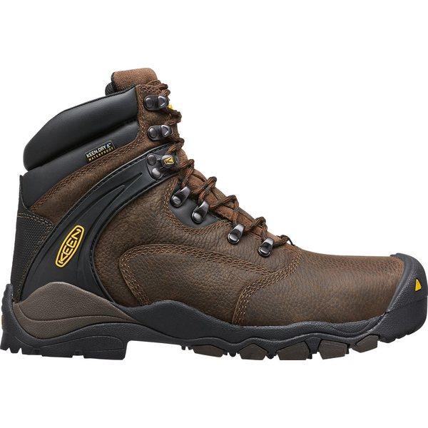 キーン メンズ ブーツ&レインブーツ シューズ KEEN Men's Louisville 6'' Waterproof Steel Toe Work Boots CascadeBrown