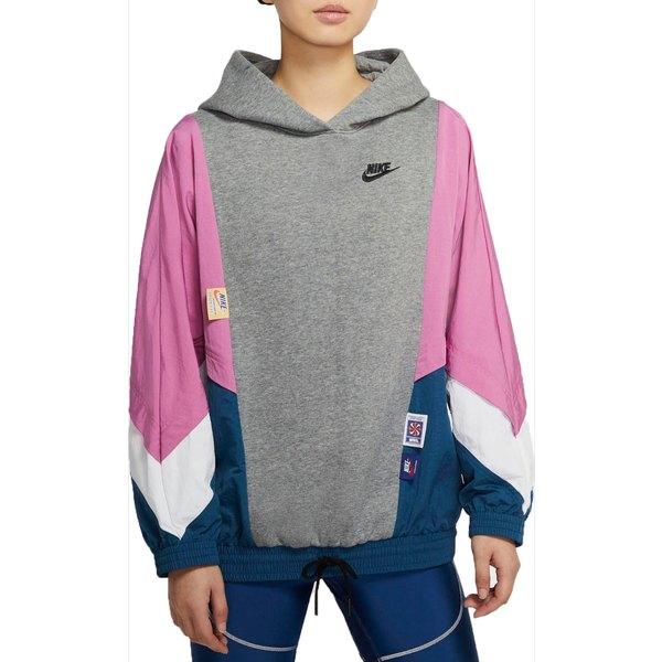 ナイキ レディース シャツ トップス Nike Women's Sportswear Pullover Hoodie CarbonHeather