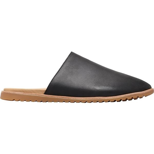 ソレル レディース スニーカー シューズ SOREL Women's Ella Mule Casual Shoes Black