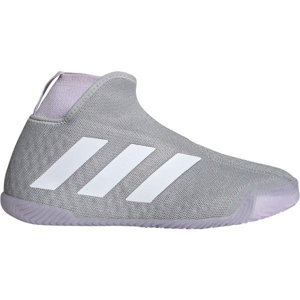 アディダス レディース テニス スポーツ adidas Women's Stycon Tennis Shoes Grey/Purple