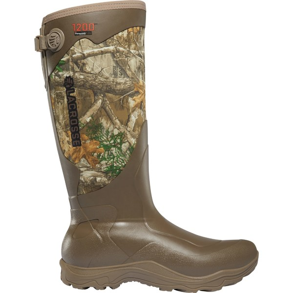 ラクロス メンズ ブーツ&レインブーツ シューズ LaCrosse Men's Alpha Agility 17'' Realtree Edge 1200g Rubber Hunting Boots RealTreeEdge