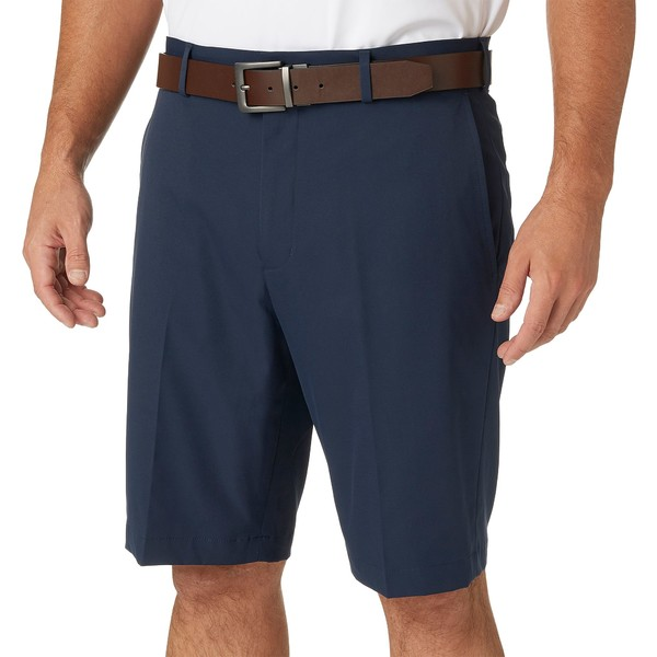 ウォルター・ヘーゲン メンズ カジュアルパンツ ボトムス Walter Hagen Men's 11 Majors Golf Shorts Big & Tall Navy