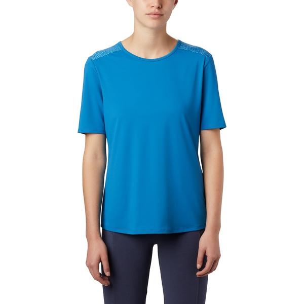 コロンビア レディース シャツ トップス Columbia Women's Chill River T-Shirt DarkPool/Print