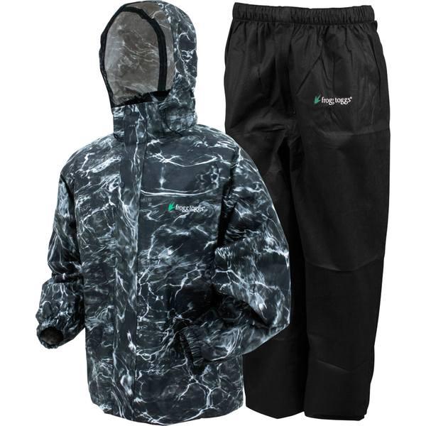 フロッグトッグス メンズ ジャケット&ブルゾン アウター frogg toggs All Sport Rain and Wind Suit BlackTip