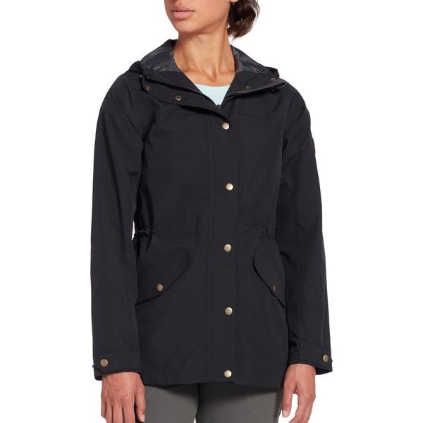 アルパインデザイン レディース ジャケット&ブルゾン アウター Alpine Design Women's National Forest 2 Layer Rain Parka PureBlack