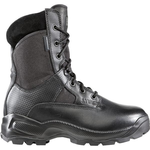 5.11タクティカル メンズ ブーツ&レインブーツ シューズ 5.11 Tactical Men's A.T.A.C. Storm Waterproof Tactical Boots Black