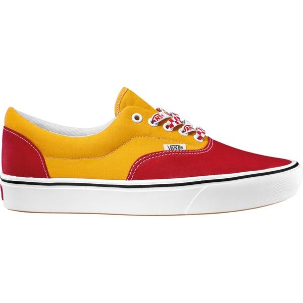 バンズ メンズ スニーカー シューズ Vans Era ComfyCush Shoes Red/Yellow