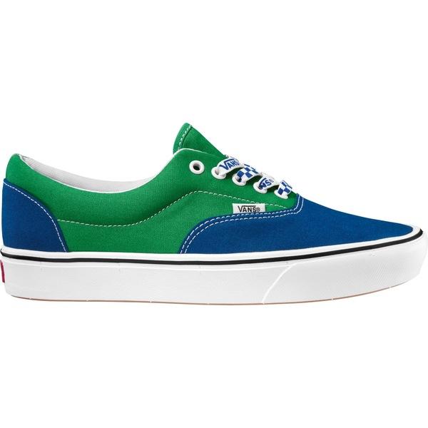 バンズ メンズ スニーカー シューズ Vans Era ComfyCush Shoes Green/Blue