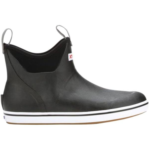 エクストラタフ レディース ブーツ&レインブーツ シューズ XTRATUF Women's 6'' Ankle Waterproof Deck Boots Black