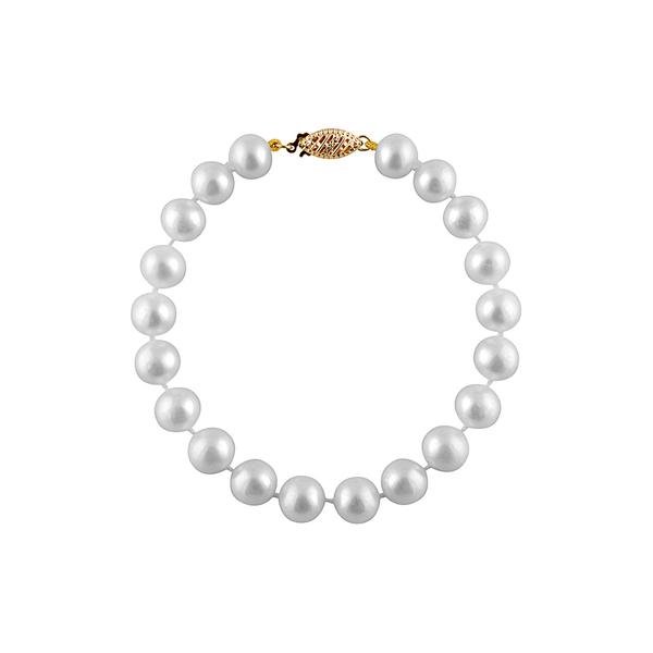 スプレンデッドパールズ レディース アクセサリー ブレスレット バングル アンクレット - 日本未発売 全商品無料サイズ交換 Freshwater 8-8.5mm Bracelet Pearls 公式ストア Splendid 14K Pearl Strand