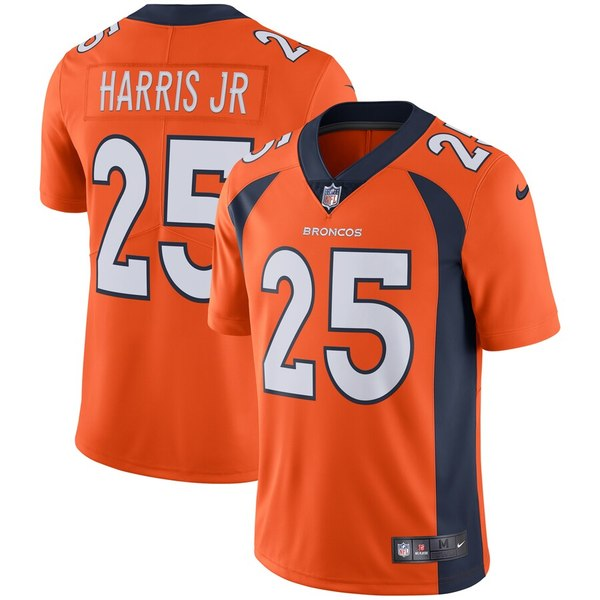 ナイキ メンズ シャツ トップス Chris Harris Jr Denver Broncos Nike Vapor Untouchable Limited Jersey Orange