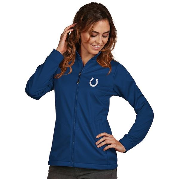 アンティグア レディース ジャケット&ブルゾン アウター Indianapolis Colts Women's Antigua Full-Zip Golf Jacket Royal