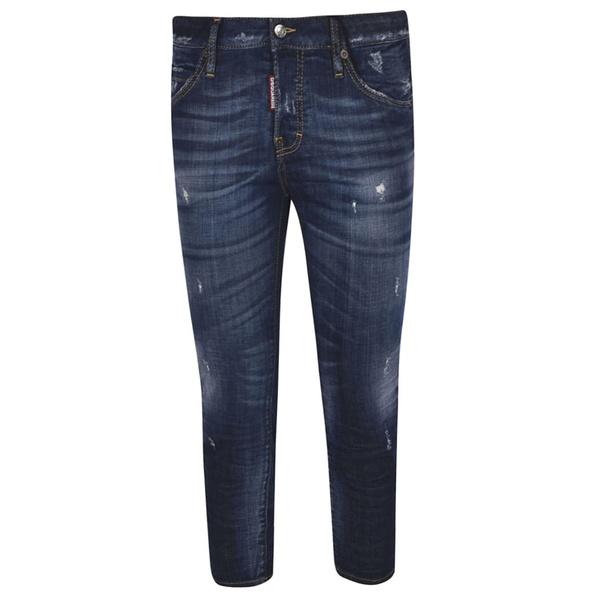 ディースクエアード レディース デニムパンツ ボトムス Dsquared2 Cool Girl Cropped Jeans -