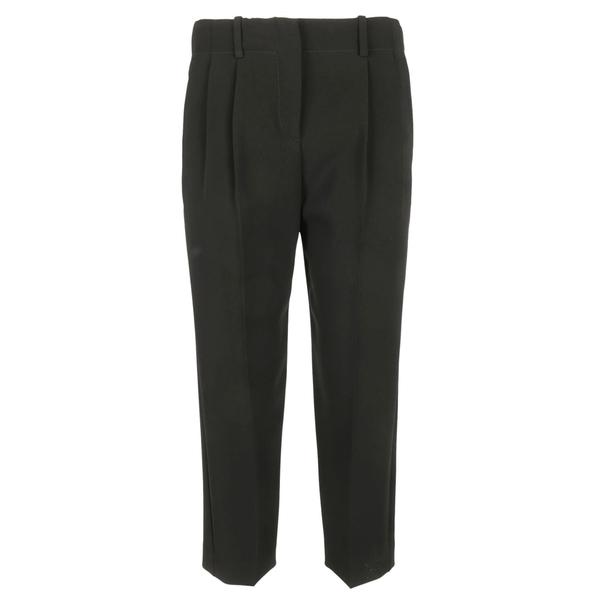 セオリー レディース カジュアルパンツ ボトムス Theory Pleated Cropped Trousers -
