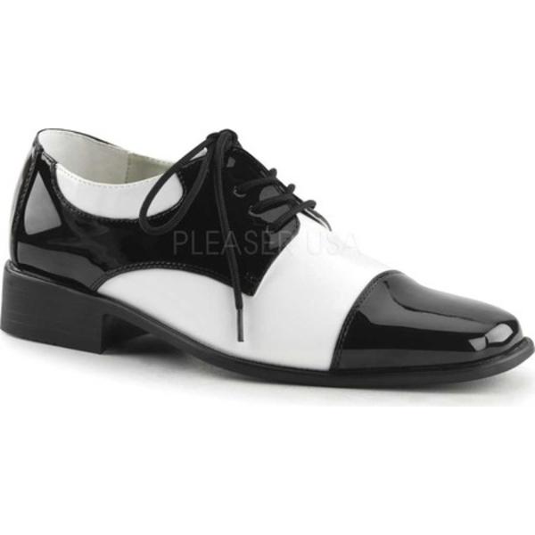 ファンタスマ メンズ シューズ デッキシューズ Black 安値 国内正規総代理店アイテム Patent 全商品無料サイズ交換 Men's White Disco 18