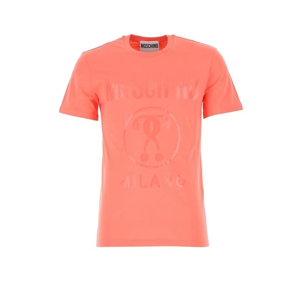 モスキーノ ☆新作入荷☆新品 メンズ トップス Tシャツ 送料無料 - Moschino T-Shirt Logo 全商品無料サイズ交換 Printed