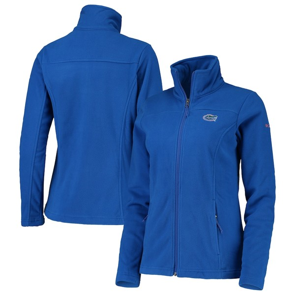 コロンビア レディース ジャケット&ブルゾン アウター Florida Gators Columbia Women's Give & Go II Fleece Full-Zip Jacket Royal