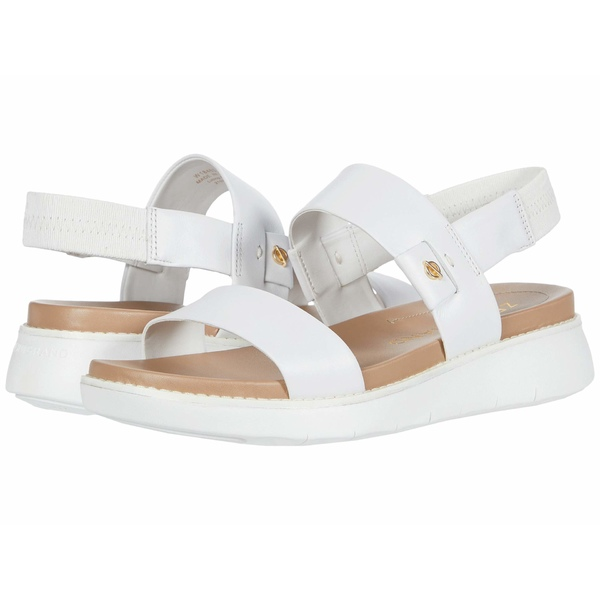コールハーン レディース サンダル シューズ Zerogrand Global Double Band Sandal Optic White Leather/Amphora/Optic White