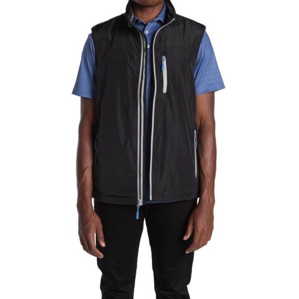 テーラーバード メンズ ジャケット&ブルゾン アウター Performance Vest BLACK