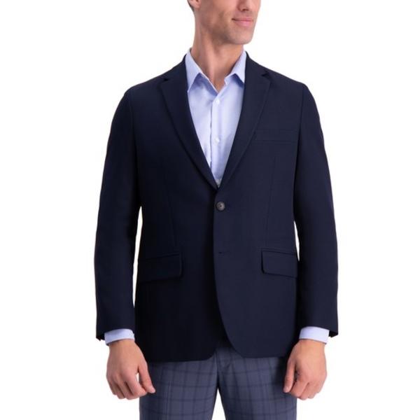 2-Button Suit 4-Way ハガール Coat DARK NAVY Stretch アウター Gabardine ジャケット&ブルゾン Separate メンズ
