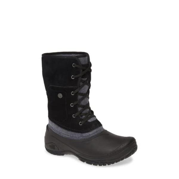 ノースフェイス レディース ブーツ&レインブーツ シューズ Shellista II Roll Cuff Waterproof Insulated Winter Boot TNF BLACK