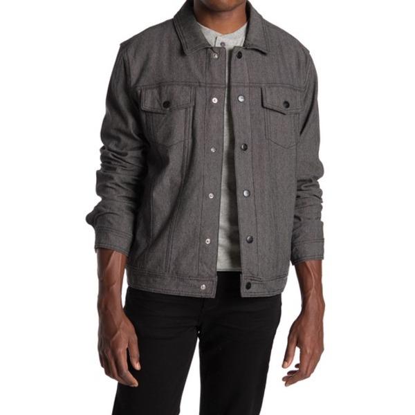 イズキール メンズ ジャケット&ブルゾン アウター Now Denim Herringbone Jacket BLACK