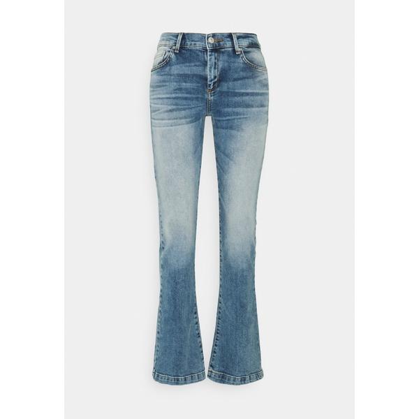 エル ティ ビー レディース デニムパンツ ボトムス FALLON - Flared Jeans - gaura undamaged wash bolm0179