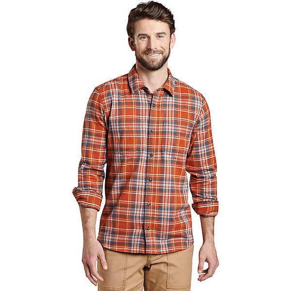 トードアンドコー メンズ シャツ トップス Toad & Co Men's Flannagan LS Shirt Ketchup